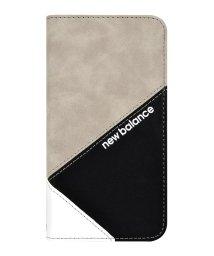 Mーfactory/New Balance [手帳ケース/スエードMIX/グレー] iPhone11/502768407