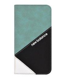 Mーfactory/New Balance [手帳ケース/スエードMIX/エメラルド] iPhone11/502768408