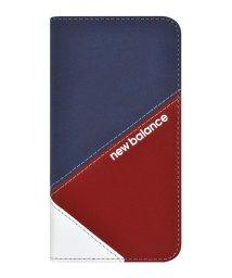 Mーfactory/New Balance [手帳ケース/スエードMIX/トリコロール] iPhone11/502768409