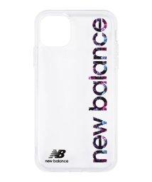 Mーfactory/New Balance [TPUクリアケース/縦ロゴ/フラワー柄] iPhone11Pro/502768410