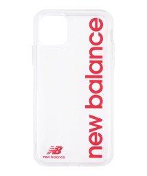 Mーfactory/New Balance [TPUクリアケース/縦ロゴ/レッド] iPhone11Pro/502768411