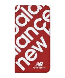 Mーfactory/New Balance [スリム手帳ケース/スタンプロゴ/レッド] iPhone11Pro/502768417