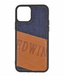 Mーfactory/EDWIN[パッチワークデニム]背面ケース iPhone11Pro/502768418