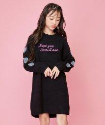 JENNI love/マシュマロニットワンピ/502771750