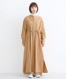 merlot/コットンドロストシャツワンピース/502772165