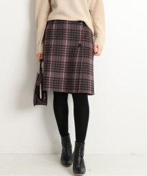 IENA/Wフェイスミニ丈スカート◆/502775253