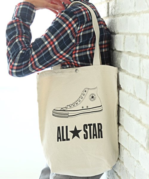 ALL★STAR CONVERSEキャンバストートバッグ/トートバッグ メンズ レディース バッグ 鞄 キャンバス コンバース