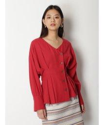 Lily Brown/タックデザインワークシャツ/502775999
