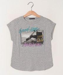 SISLEY YOUNG/ガールプリント半袖Tシャツ・カットソー/501570774