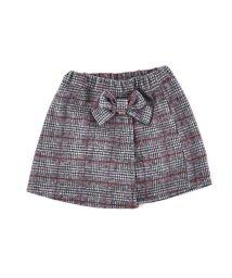 SLAP SLIP/チェックラップ風スカートパンツ/502724021