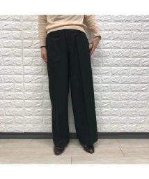 ru/【あったか】【ラクチンきれいワイドパンツ】シンプルワイドパンツ/502741499