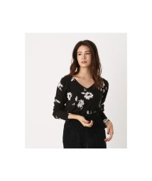 AZUL by moussy/NUDIE FLOWER KNIT TOPS 2/502776573