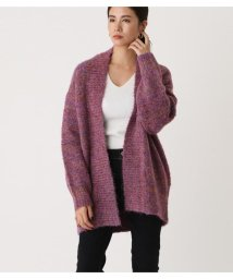 AZUL by moussy/BOUCLE KNIT CARDIGAN/502776580