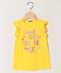 BENETTON (UNITED COLORS OF BENETTON GIRLS)/マーメイドフリル半袖Tシャツ・カットソー/502624528