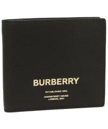 BURBERRY/バーバリー 財布 BURBERRY 8014701 A1189 CCBILL COIN シーシービル メンズ 二つ折り財布 無地 BLACK 黒/502748917