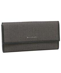 BVLGARI/BVLGARI ブルガリ 32589 WEEKEND ウィークエンド 長財布 ブラック/シルバー/502748919