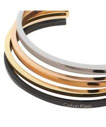 Calvin Klein/カルバンクライン ブレスレット アクセサリー CALVIN KLEIN KJ7GBF40010S メンズ/レディース バングル シルバー/ゴールド/ローズゴール/502748956