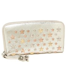 JIMMY CHOO/ジミーチュウ 財布 JIMMY CHOO FILIPA GTA GLITTER LEATHER W MULTI METAL STARS フィリパ スタースタッズ/502749128