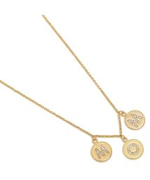 kate spade new york/ケイトスペード ネックレス アクセサリー KATE SPADE WBRUF570 921 MOM KNOWS BEST PAVE MOM CHARM NECKL/502749177