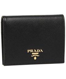 PRADA/プラダ 財布 PRADA 1MV204 QWA F0002 レディース 二つ折り財布 無地 NERO 黒/502749341