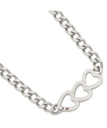 TOMMY HILFIGER/トミーヒルフィガー ネックレス アクセサリー TOMMY HILFIGER 2700905 HEART TRIO NECKLACE レディース ペンダント シル/502749402