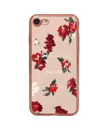 Mーfactory/rienda [メッキクリアケース/レッドフラワー]iPhone8/7/502768342