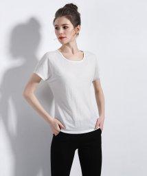 ALWAYS/Ladiesリネン混素材ベーシックTeeシャツ/502773602