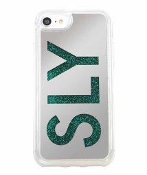 Mーfactory/SLY [ウォーターミラー(LOGO)_GREEN] iPhone8/502768350