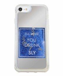 Mーfactory/SLY [ウォーターミラー(香水)_BLUE] iPhone8/502768351