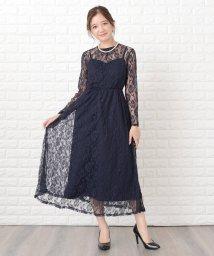 Lace Ladies/花柄繊細レース&キャミソール2点セットドレス・ワンピース/502773843
