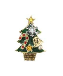 Plus Vendome/クリスマスツリー ブローチ/502774746