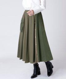 LASUD/[RADIATE]ミリタリーデザイン 異素材MIXスカート/502777303