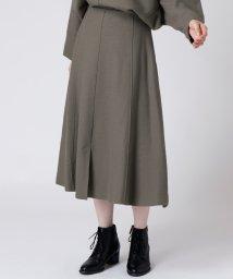 LASUD/【セットアップ対応商品】[soeur7]圧縮ウール デザインスカート/502777311