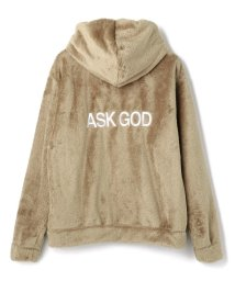 LHP/MAGIC STICK/マジックスティック/EXCLUSIVE FAUX FUR ZIP HOODIE/502780011