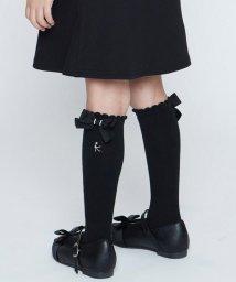 KUMIKYOKU KIDS/【16-24cm】ピコベタ無地ハイソックス/502781755