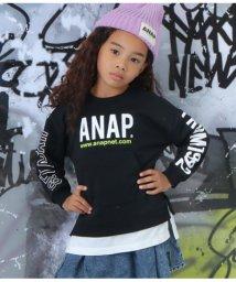 ANAP KIDS/レイヤード風裏毛トレーナー/502592199