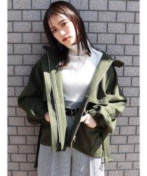 MURUA/ギャザールーズマウンテンパーカー/502650779