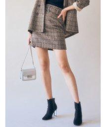 MERCURYDUO/【WEB・一部店舗限定】ベルト付ミニスカート/502724126