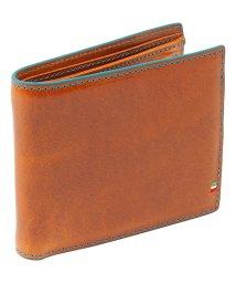 ADC/GORBE イタリアンレザーカラーエッジスマート二つ折り財布/502763125