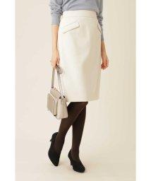 NATURAL BEAUTY BASIC/[洗える]フラップポケットタイトスカート/502780398