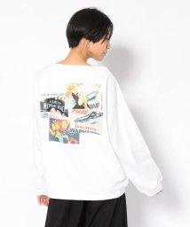 AVIREX/SH/ピンナップガール ロングスリーブティーシャツ/PIN UP GIRL T-SHIRT/502783576