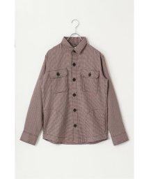 ikka/ガンクラブチェックCPOシャツ/502786922