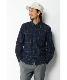 ikka/モールチェックレギュラーシャツ/502787128