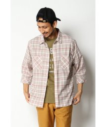 ikka/7ブドビーチェックシャツ/502787135