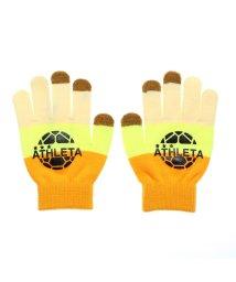 ATHLETA/アスレタ ATHLETA ジュニア サッカー/フットサル 防寒手袋 フィールドニットグローブ 05251J/502787618