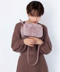 ViS/【高橋愛×ViS】エコファーボックスショルダーバッグ/502609514