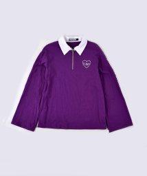 ZIDDY/【ニコプチ掲載】ラガーシャツ風Tシャツ/502682478
