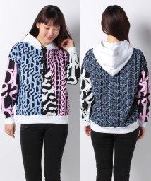 Desigual/ロゴマニア フードスウェットシャツ Designed by M. Christian Lacroix/502753669