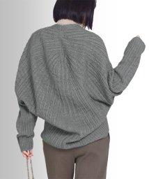 MARTHA/日本製ホールガーメントケーブルカーディガン/502773582