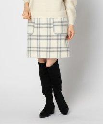 NOLLEY'S/チェックビーバーポケット付スカート/502776357